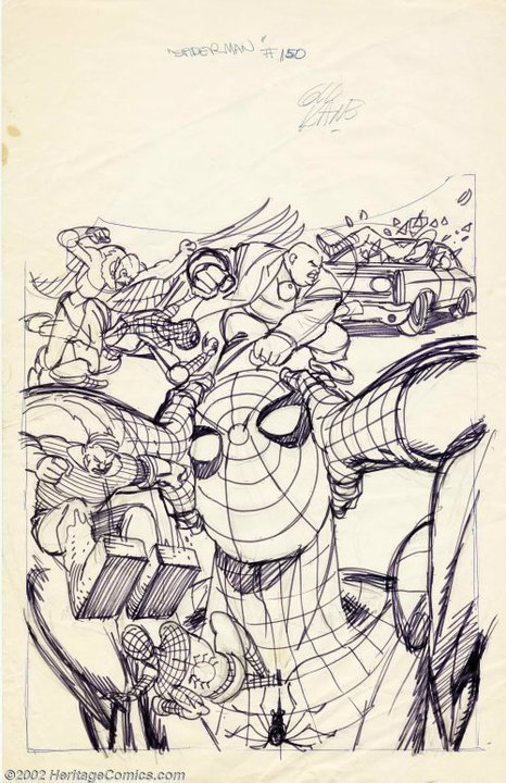Lost layouts of GIL KANE